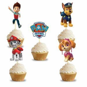 Paw Patrol Cupcake Topper (14 Pieces)