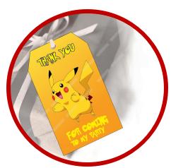 Pokemon Favor & Return gifts