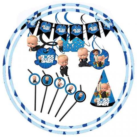 BOSS BABY THEME ACCESSORIES