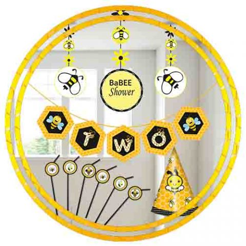 BUMBLE BEE THEME ACCESSORIES