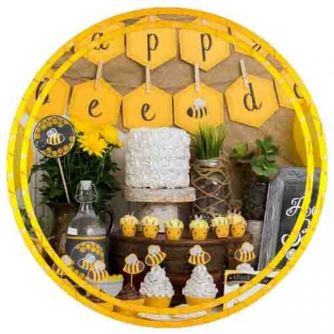 BUMBLE BEE THEME DECORATION