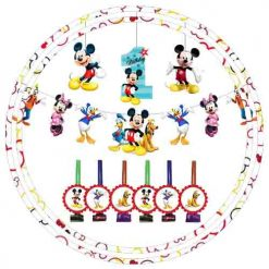 MICKEY MOUSE 1ST BIRTHDAY DECORATION