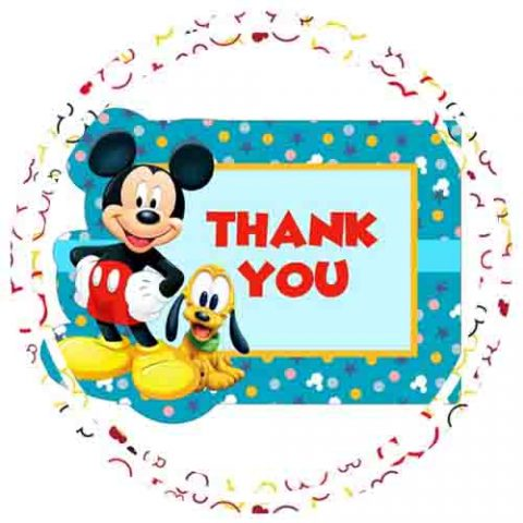 MICKEY MOUSE 1ST BIRTHDAY FAVOR & RETURN GIFTS