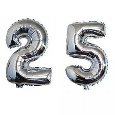 25TH ANNVERSARY FOIL Balloon