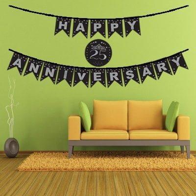 25th Anniversary Decoration