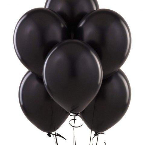 Black Latex Balloon