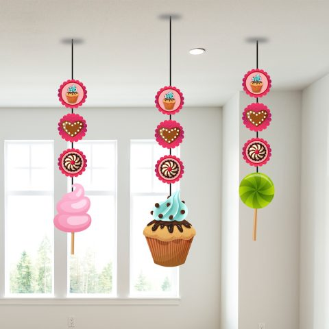 Candy Theme Celling Hanging