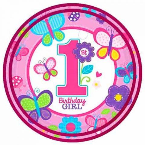GIRL'S 1st BIRTHDAY