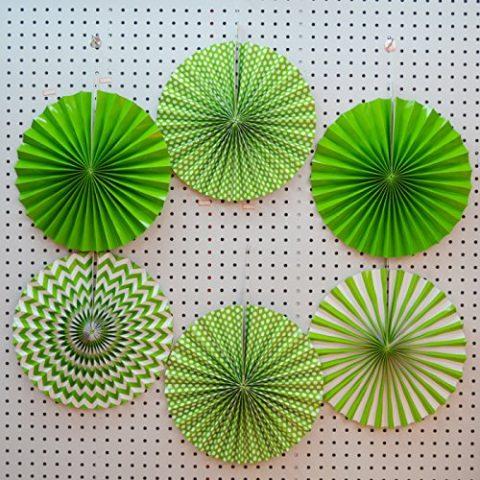 Green paper Fan