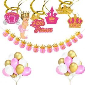 Little Princess Kids Birthday Decoration
