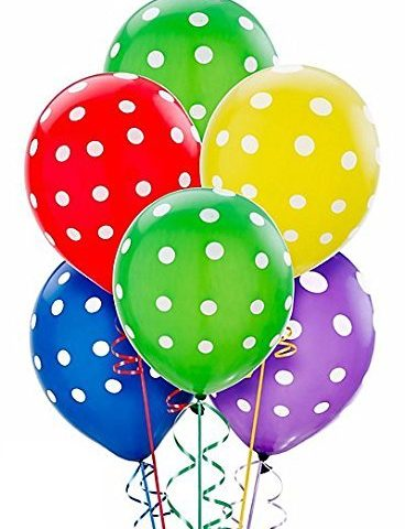 Multicolour Polka Dot balloon