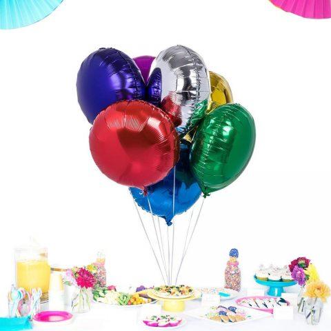 Round shape helium foil balloon