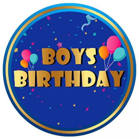 Boys Birthday