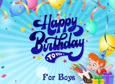 Boys Birthday Decoration From Party Propz