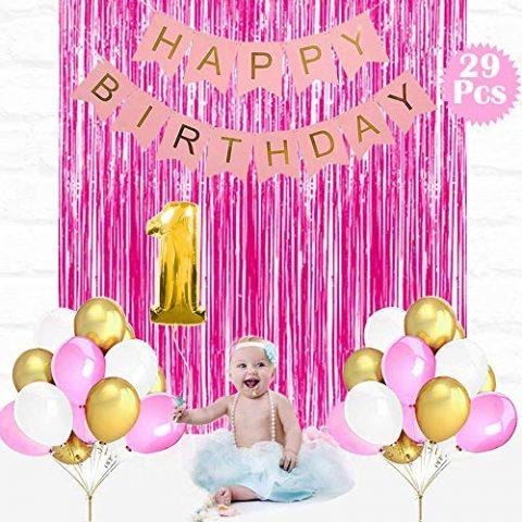 Girls 1st Birthday