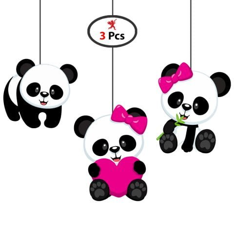 Baby Shower Panda Celling Hanging