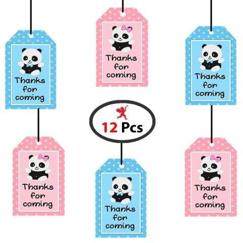 Baby Shower Panda Thank You