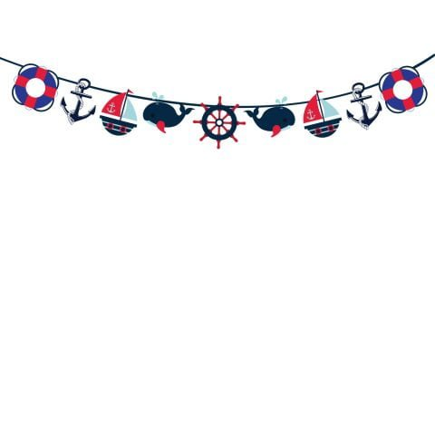 Nautical String Banner