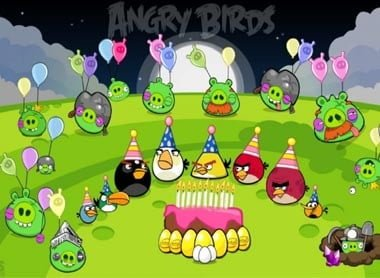 angry birds theme decoration party supply