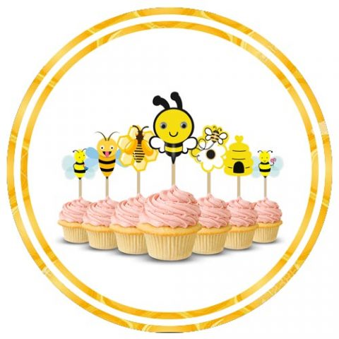 BUMBLE BEE THEME CAKE SUPPLY