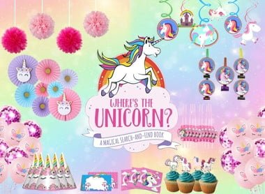 unicorn theme party propz
