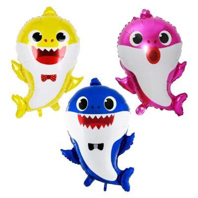 Baby Shark 3Pcs foil balloon set
