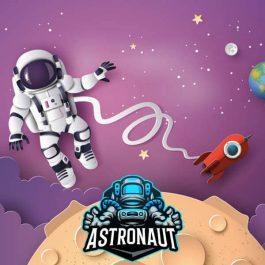 astronaut space theme birthday decoration
